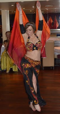 Michelle Clarke form Anwaar Belly Dance Harlow